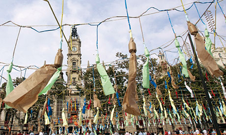 Valencia Fallas and mascletà