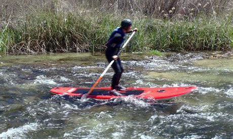 One of the world's fastest growing adventure sports: Stand Up Paddle or SUP