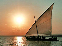 Lateen Sailboat Sunset Tour