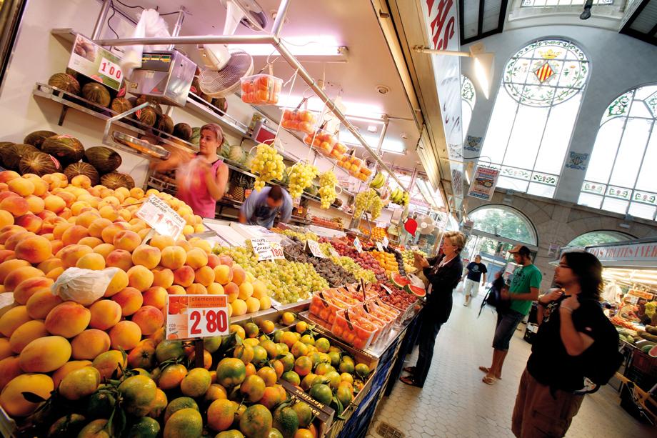Toledo Spain Food Market
