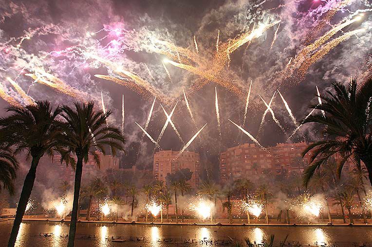 Exhibition Of Fireworks