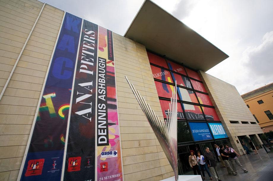 Valencia Spain Valencia Modern Art Institute Ivam